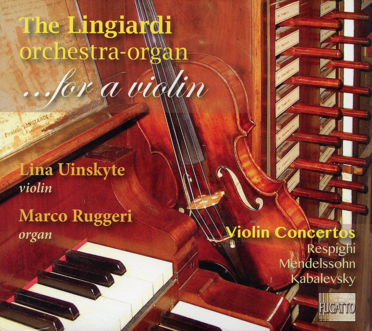 The Lingiardi orchestra-organ... for a violin