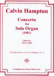 Calvin Hampton, Concerto for Solo Organ