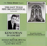 The Aeolian-Skinner Legacy: Ken Cowan in Concert