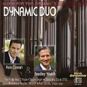 Music for Two Organists: Dynamic Duo