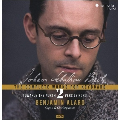 In this second installment of the complete keyboard works, Benjamin Alard demonstrates with splendid eloquence how invaluable the young Bach's north German experience proved to be. His attentive examination of the works of the great organ masters and his craving for all kinds of music significantly broadened the stylistic foundations of his keyboard writing. The wide range of works presented here, complemented by pieces by Buxtehude, Reinken and Pachelbel, illustrates in exemplary fashion the power of a master in the making.