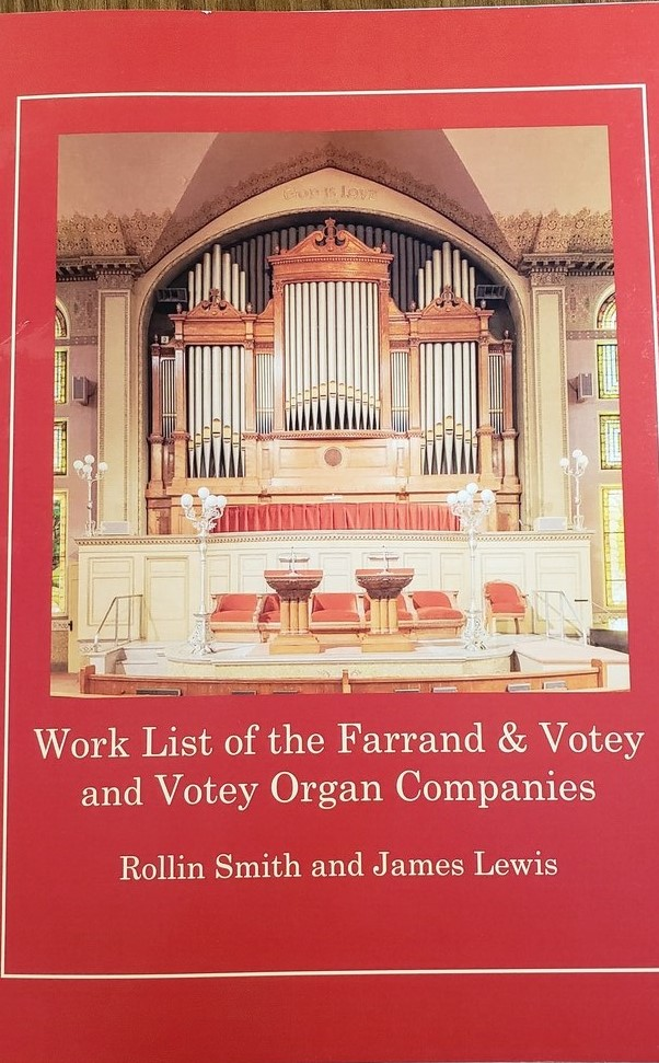 The latest monograph in American Organbuilding, this book contains an annotated list of 225 organs built between October 1889 and December 1899, compiled by Rollin Smith and James Lewis. Includes instruments from the 1893 World's Columbian Exposition, Andrew Carnegie's residence, the New England Conservatory of Music, New York's Metropolitan Opera House, First Church of Christ, Scientist, Boston, and others. Summer 2020