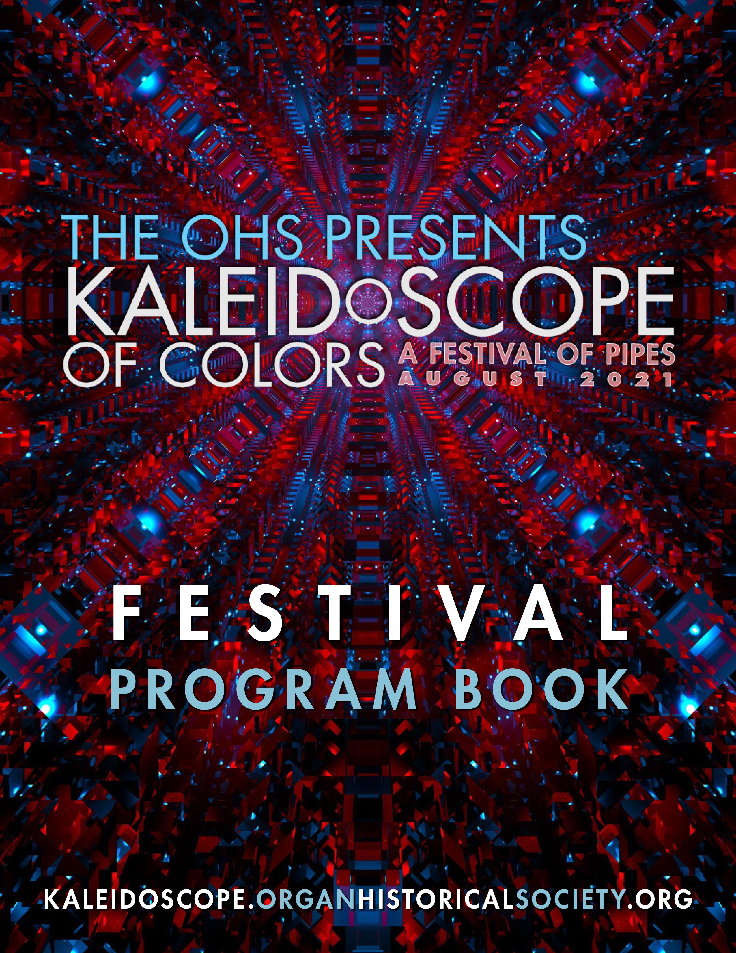 KALEIDOSCOPE OF COLORS - festival program book