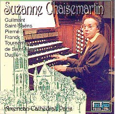 Chaisemartin at American Cathedral in Paris