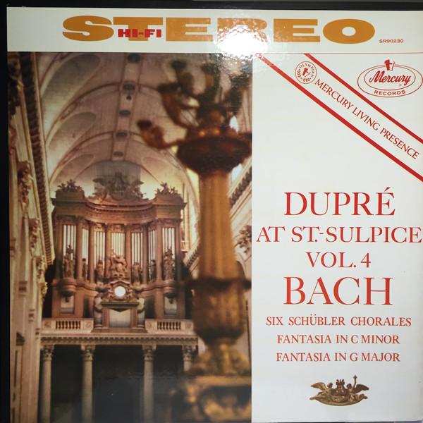 Marcel Dupré at Saint-Sulpice, Volume 4