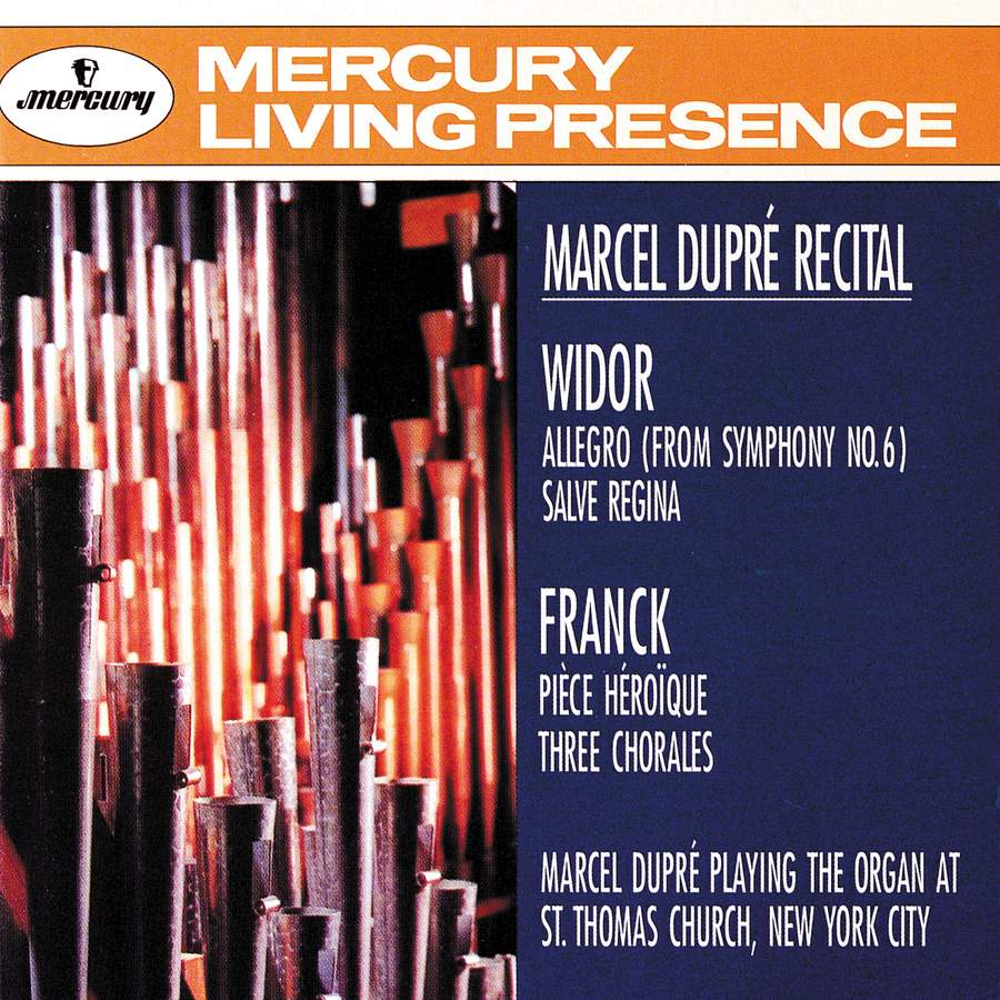 Marcel Dupré Organ Recital at Saint Thomas' Church, New York: Music by Franck