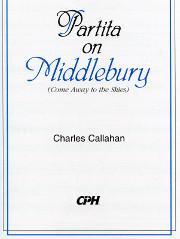"Charles Callahan, Partita on ""Middlebury"""