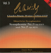 Charles Marie Widor, Volume 3: Symphonie Nr. 3 and Nr. 7