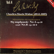 Charles Marie Widor, Volume 4: Symphonie Nr. 4 and Nr. 6