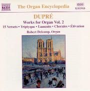 Dupré Works for Organ Vol. 2