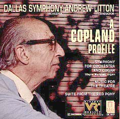 Copland Symphony for Organ and Orchestra