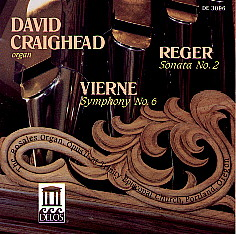 Organ Music of Reger and Vierne
