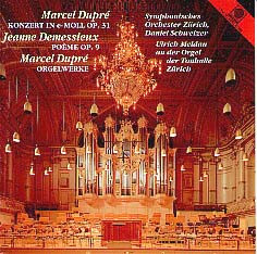 Demessieux & Dupré for Organ & Orchestra