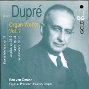 Dupre Organ Works Vol. 7