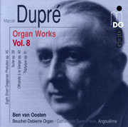 Dupre Organ Works Vol. 8