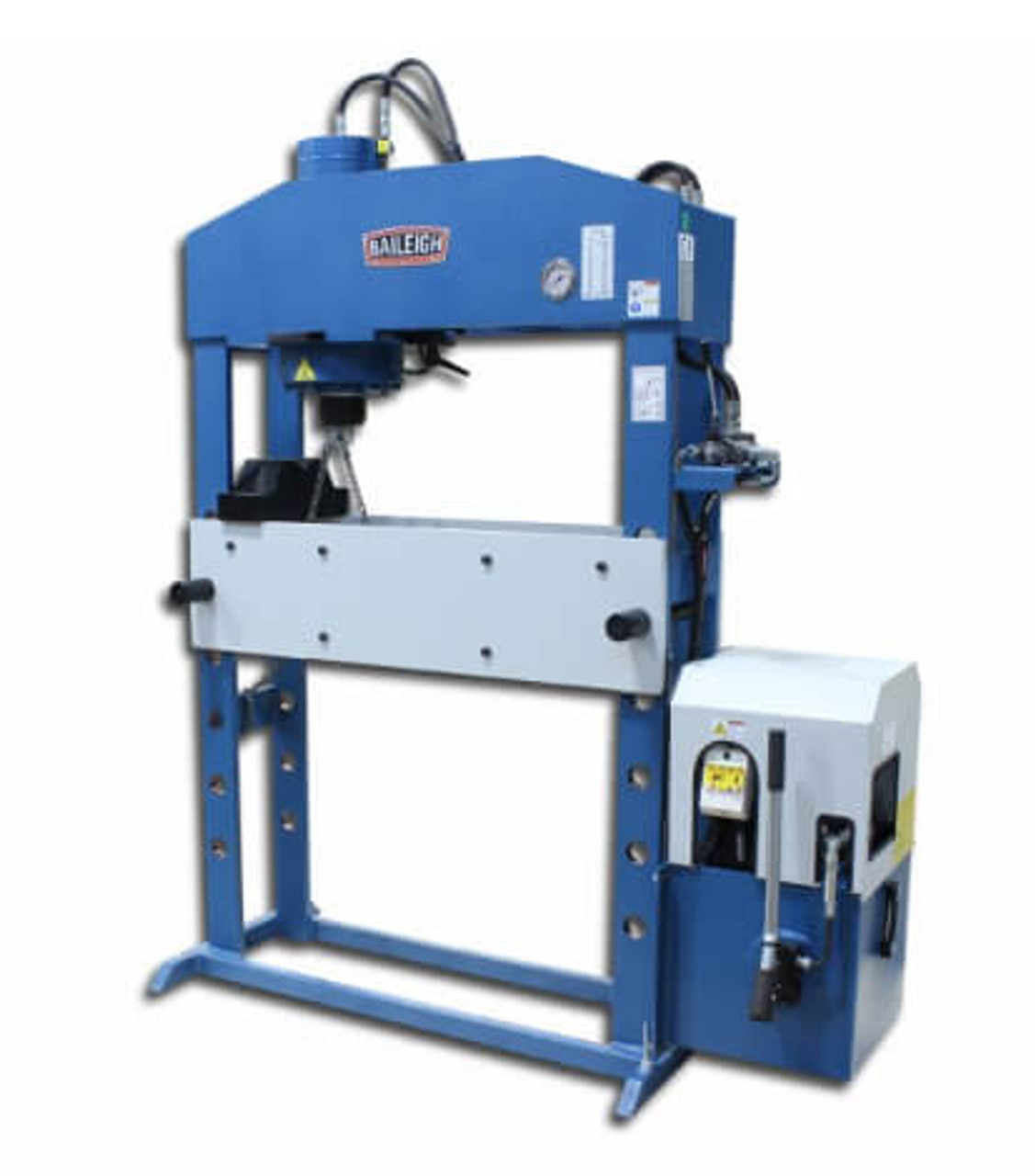 Baileigh Industrial HSP-66M-HD 66 Ton Electric/Hydraulic Shop Press | 9 85