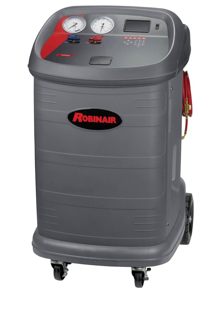 Robinair Ac Machine >> Robinair 17800c Multi Refrigerant Recovery Recycle Machine