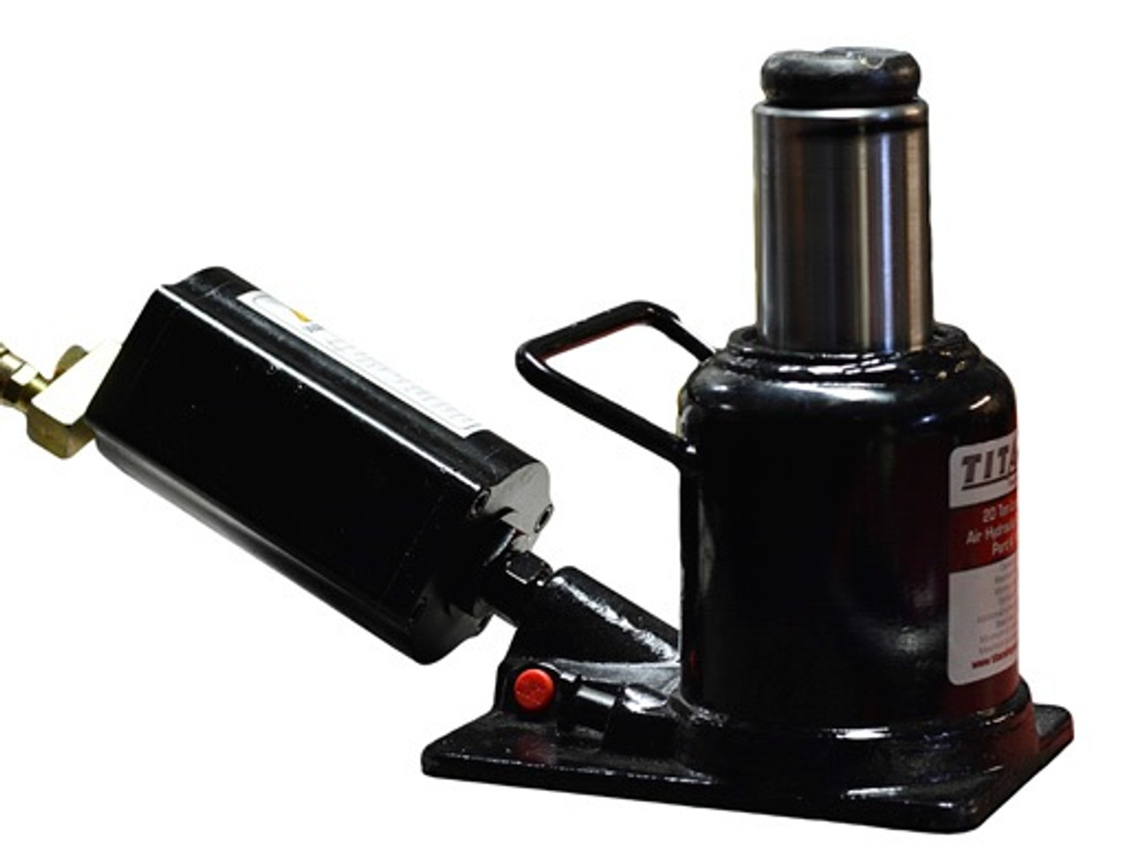 AME 14461 20 Ton Capacity Low Profile Air/Hydraulic Bottle Jack