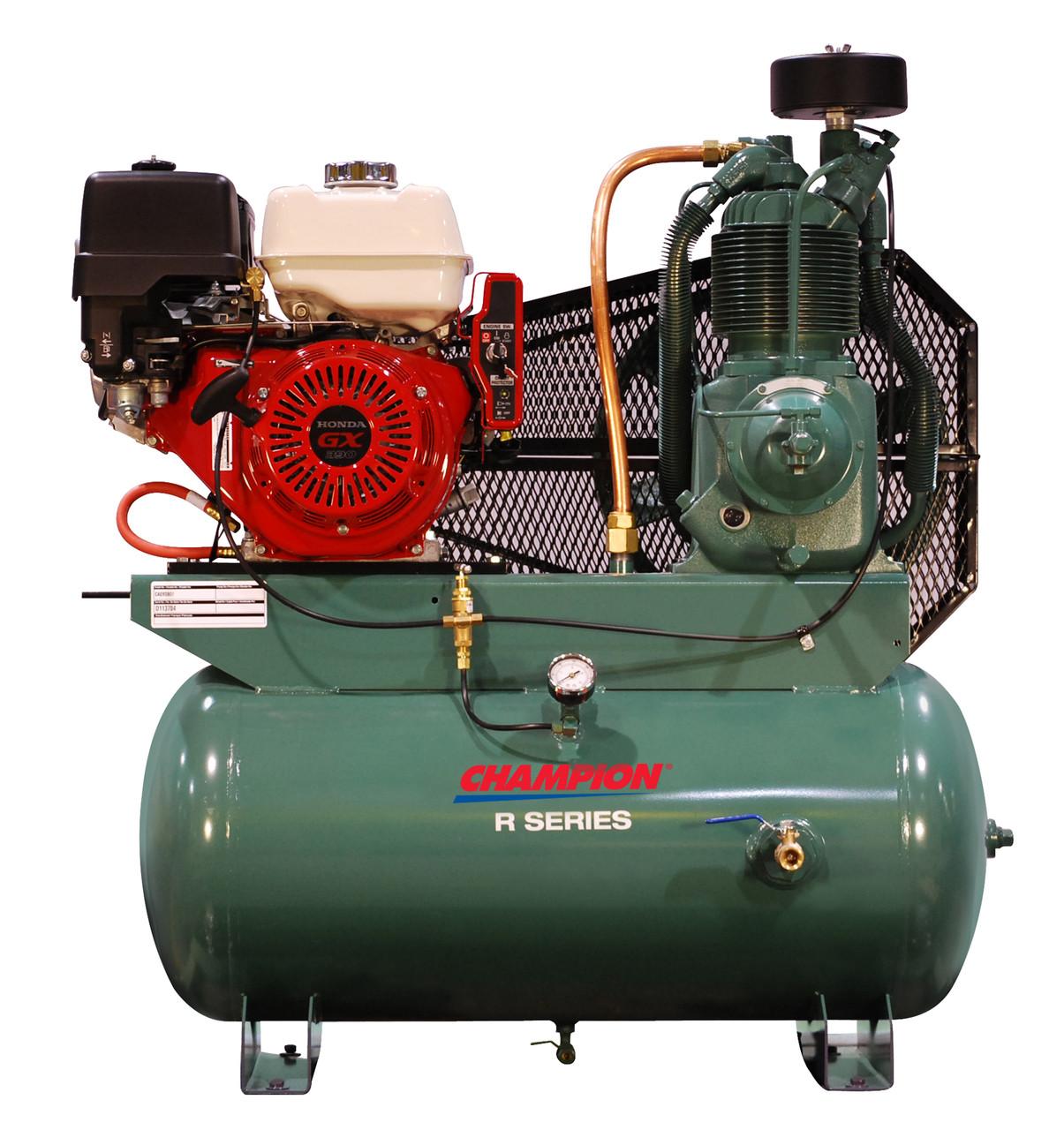 Champion HGR7-3H 13 HP, 30 Gallon Air Compressor (Honda Engine)