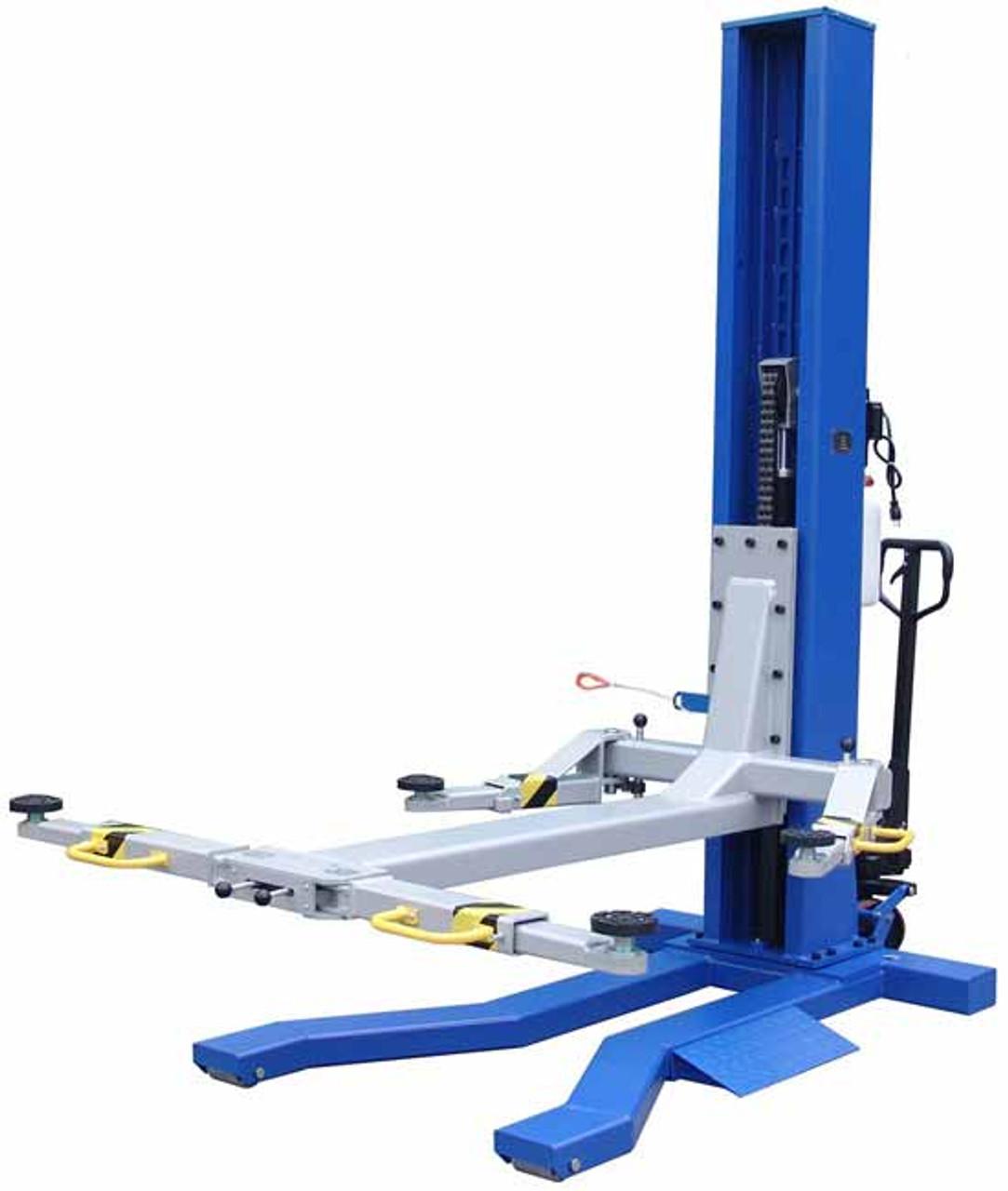 Ideal MSC-6KLP 6,000 lb Mobile Single Column Lift | Low Profile