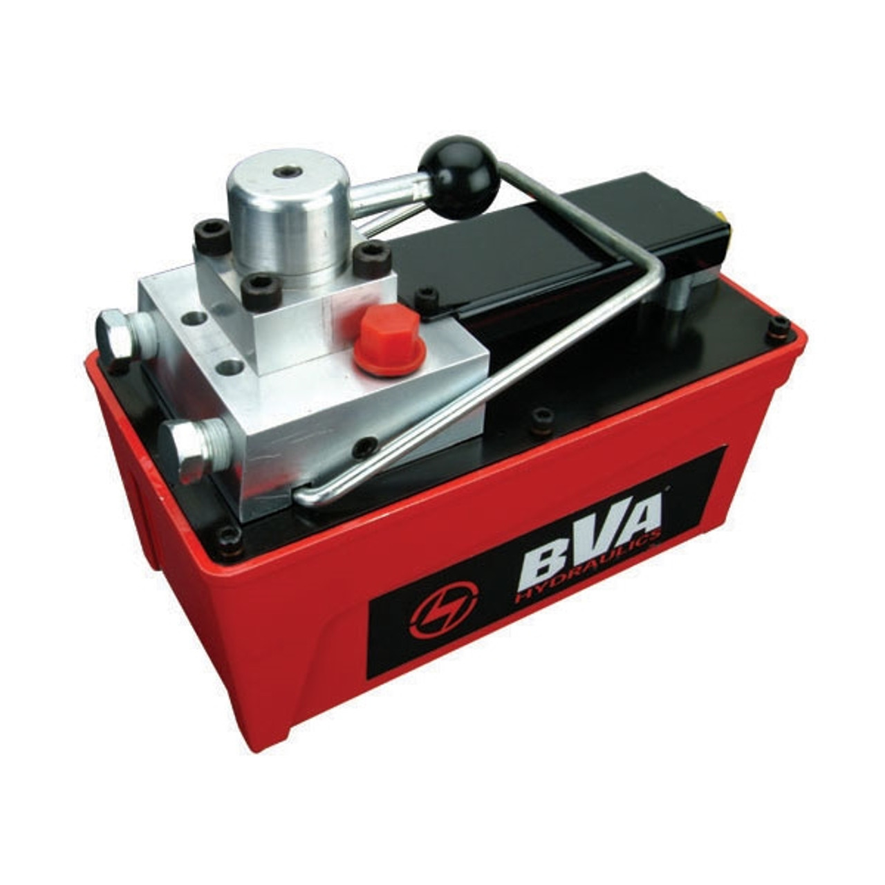 BVA PA1500M 10,000 PSI Double Acting Air Pump with 4-way Control Valve