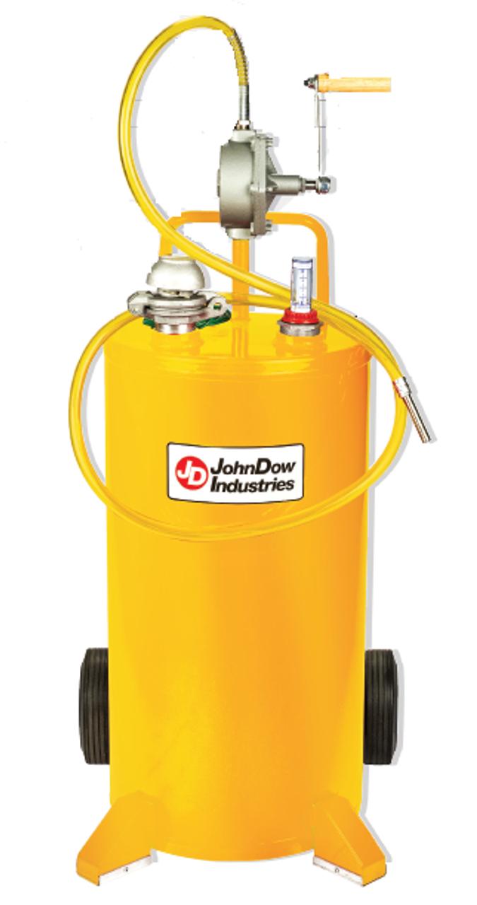 JohnDow FC-25DC 25 Gallon U L  Listed Steel Diesel Caddy