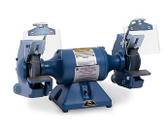 "Baldor 7306 7"" Grinder, 1,800 RPM, Cast Iron Tool Rest, Exhaust Type"