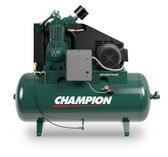Champion HR15-12 15 HP Horizontal Tank Air Compressor