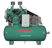 Champion HR25-12ADV 25 HP Horizontal Tank Air Compressor