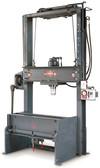 """Dake 42-500 25 Ton Elec-Draulic II Rolling Bed Hydraulic Press - 10"""" Stroke"""