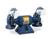 "Baldor 712E 7"" Grinder, 3,600 RPM, Stamp Steel Tool Rest, Exhaust Type"