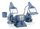 "Baldor 7"" Deluxe Grinder, 3,600 RPM, Cast Iron Tool Rest, Exhaust Type"