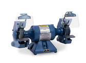 """Baldor 7351 7"""" Grinder and Buffer, 3,600 RPM, Cast Iron Tool Rest, Exhaust Type"""