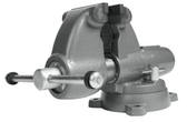 """Wilton 28827 Combination Pipe And Bench 5"""" Jaw Round Channel Vise with Swivel Base"""