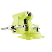 "Wilton 1550 High-Visibility Safety 5"" Vise with Swivel Base"