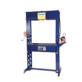 "Hein-Werner HW93401 55 Ton Air Shop Press - 6"" Stroke"