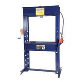 "Hein-Werner HW93414 55 Ton Rolling Head Electric Shop Press - 13"" Stroke"