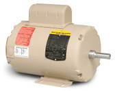 Baldor AFL3523A 2 HP 3450 RPM TEAO Single Phase Fan Motor