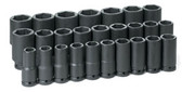 Grey Pneumatic 8026MD 3/4'' Drive Deep Length Metric Set