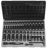 "Grey Pneumatic 81659CRD 3/8"" Dr. 59pc Fractional & Metric Socket Set"