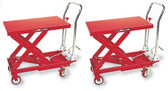AFF 3904 Hydraulic Table Cart