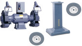 "BALDOR 1215W 12"" GRINDER WITH GA20 PEDESTAL AND WHEELS PACKAGE"