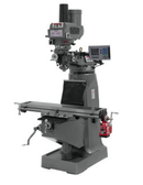 JET 690125 JTM-4VS Mill, 3 Ph, ACU-RITE 200S DRO, Power Draw Bar and X-Axis Powerfeed