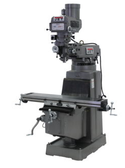 JET 690151 JTM-1050 Mill with 3 Axis ACU-RITE 200S DRO (Quill) and X and Y-Axis Powerfeed and Power Draw Bar, 3HP, 3Ph,