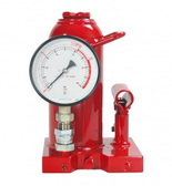 Zinko ZNP-10P 10 Ton Bottle Jack with Pressure Gauge