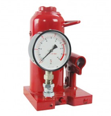 Zinko ZNP-20P 20 Ton Bottle Jack with Pressure Gauge