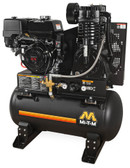 MI-T-M ABS-13H-30H 30 Gallon Tank-Mounted Honda Compressor