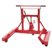 Sunex 1500 lb Hydraulic Wheel Dolly