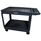 Sunex Black Large Plastic Utility Cart