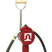 "Fill-Rite FR152 Piston Pump, 20GPM, 8"" Hose"
